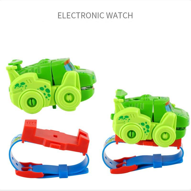 Đồng hồ trẻ em đồ chơi robot ô tô cực hay