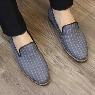 Giày lười vải Hàn Quốc