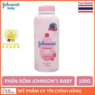 Phấn Rôm Johnson s Baby Hương Hoa Blossom Baby Powder 100g thumbnail