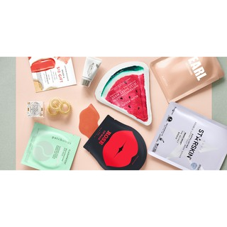 Tách set mặt nạ Allure Beauty Box November 2018