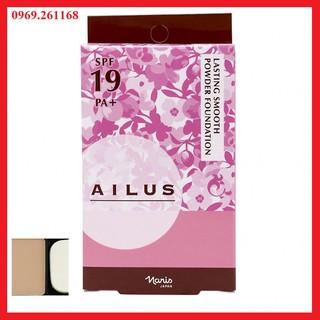 [PP chính hãng] Phấn nền siêu mịn lâu trôi Nhật Bản Naris Ailus Lasting Smooth Powder Foundation SPF19 PA+ thumbnail