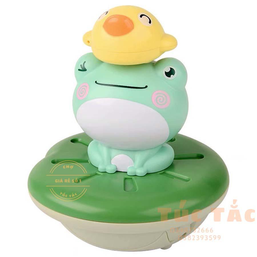 【anyuki'shop】Đồ Chơi Nhà Tắm Ếch Con Phun Nước , đồ chơi bồn tắm cho bé ( Đủ 5 phụ kiện) – bán cả thế giới