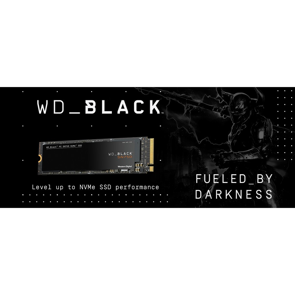 Ổ cứng SSD Western Black 500GB, 2TB M.2 NVMe PCIe