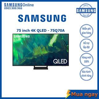 Smart TV Samsung 4K QLED 75 inch QA75Q70A Mới 2021 – Bảo hành 2 năm chính hãng