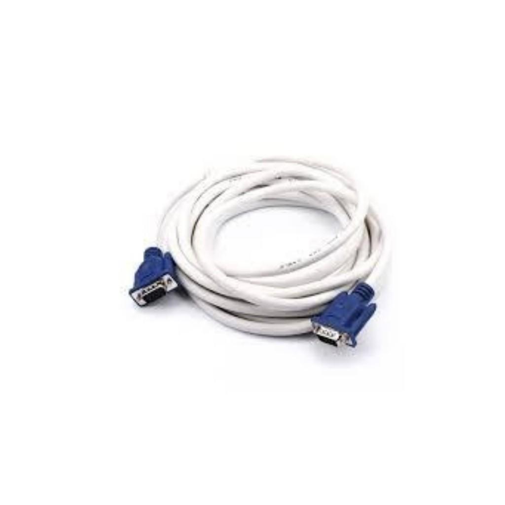 Dây tín hiệu VGA 1.5m-5m trắng chống nhiễu.hàng chất lượng .Bảo hành 3 tháng