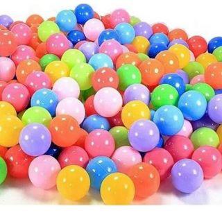 Combo 200 bóng nhiều màu sắc loại 5cm cho bé yêu