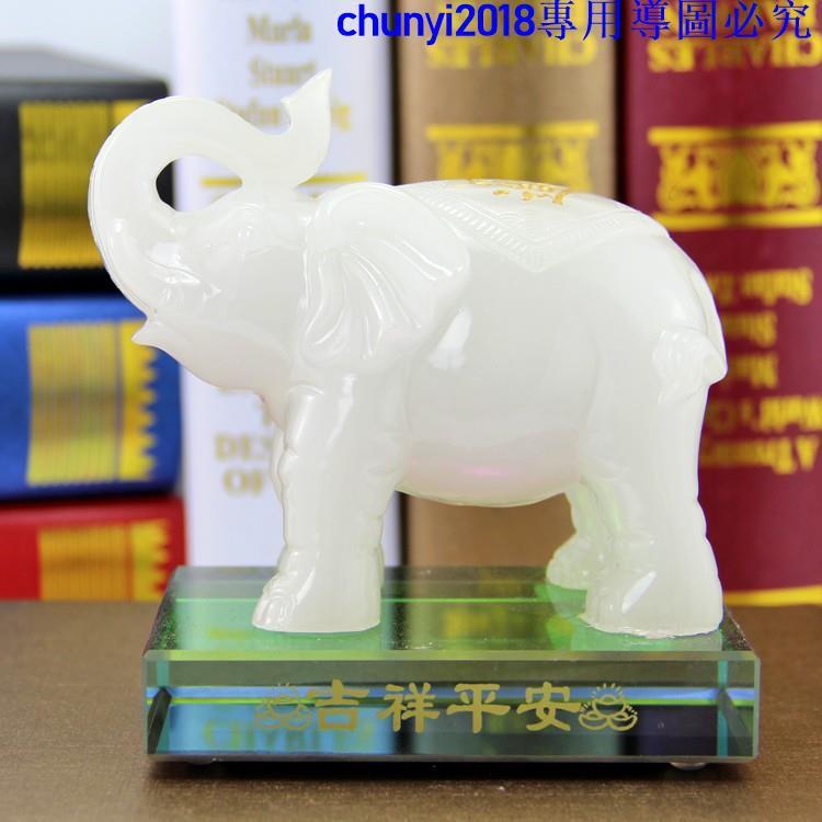 mô hình voi con trang trí