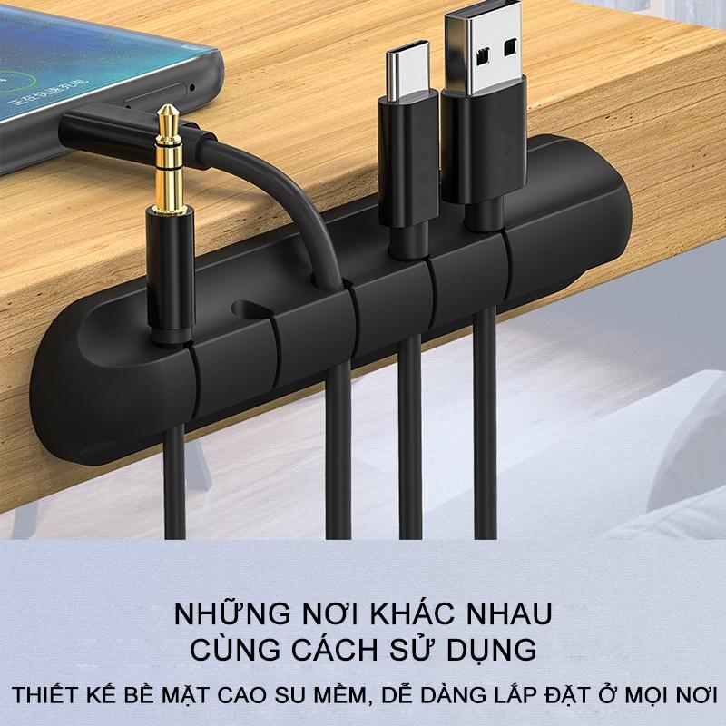 Đế đỡ hiệu dính chặt dùng giữ dây cáp hỗ trợ sắp xếp không gian [NBL16]