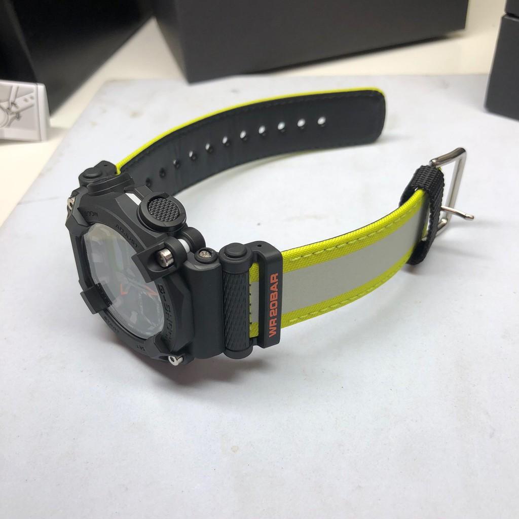 Đồng Hồ Casio G-Shock GA-900E-1A3 Nam - 2 Bộ Dây - Chống Nước 200M - Bảo Hành Chính