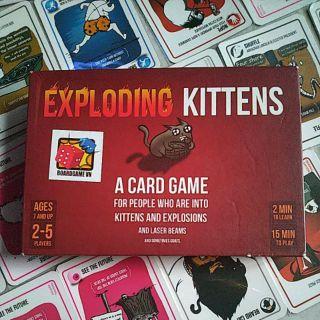 Mèo nổ Exploding Kitten full bọc bài