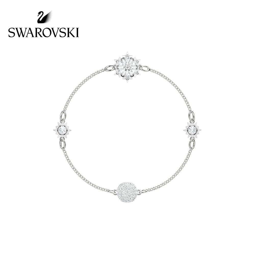 【Alanya Store】Swarovski SWA REMIX Fantasy Snowflake Invisible Magnetic Buckle Fe