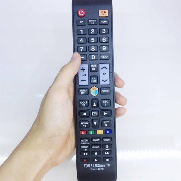 Điều Khiển TV Samsung Đa Năng RM-D1078+ - Dùng cho các dòng TV LCD/LED Samsung(