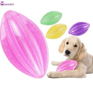 Ready Pet Dog Toys Ball Flashing Interactive Elasticity Ball Toy Dog Chew Tooth Train Funny Dog Queen