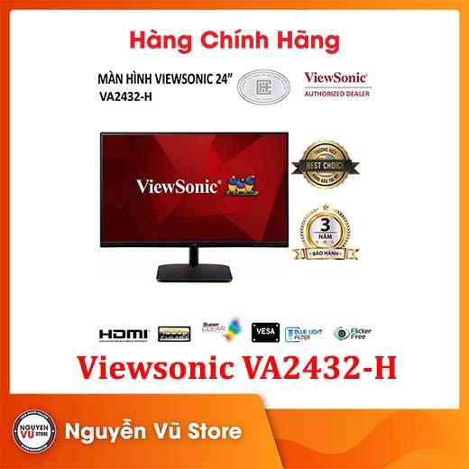 Màn hình Viewsonic VA2432-h  24 inch  IPS  75Hz  4ms - Hàng Chính Hãng