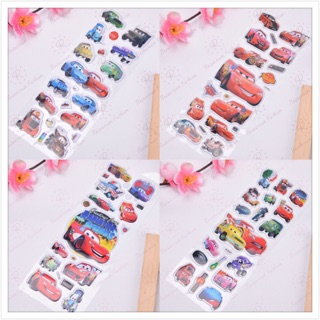 Bộ sticker dán hình các nhân vật hoạt hình Vương Quốc Xe Hơi mini