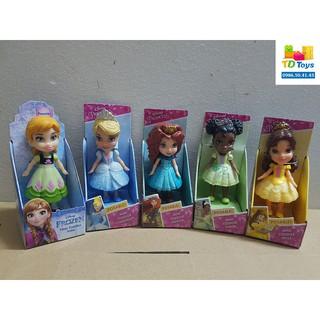 Đồ chơi búp bê chính hãng Disney Princess (bản mini)