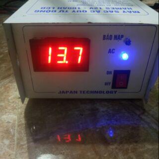 Máy nạp acquy 12v10a cao cấp hoan toàn tự động