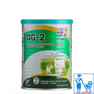 [CHÍNH HÃNG] Sữa Bột DG-2 Goat Milk Follow - On Formula Hộp 400g thumbnail
