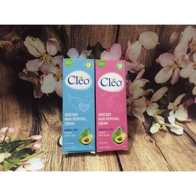 Kem tẩy lông Cleo Avocado 50g các loại