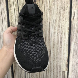 [FullBox] Giày Adidas Ultra Boost ĐEN ĐẾ TRẮNG Hot