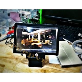 FREESHIP ĐƠN 99K_Kính phóng đại màn hình 3D điện thoại PeepVN (Đen)
