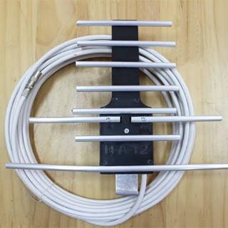 Combo 2 angten DVB T2 - Ngoài trời 15m - angten DVBT2