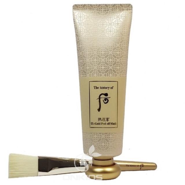 Mặt nạ vàng 24k dạng gel lột Whoo UI Gold Peel off Mask 80ml - 3160293 , 1118986871 , 322_1118986871 , 600000 , Mat-na-vang-24k-dang-gel-lot-Whoo-UI-Gold-Peel-off-Mask-80ml-322_1118986871 , shopee.vn , Mặt nạ vàng 24k dạng gel lột Whoo UI Gold Peel off Mask 80ml
