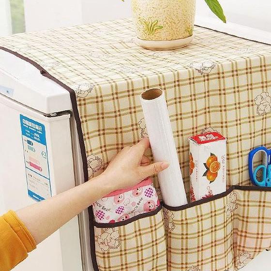 Tấm phủ tủ lạnh có túi đựng bằng vải không dệt - BBL01 | Shopee Việt Nam