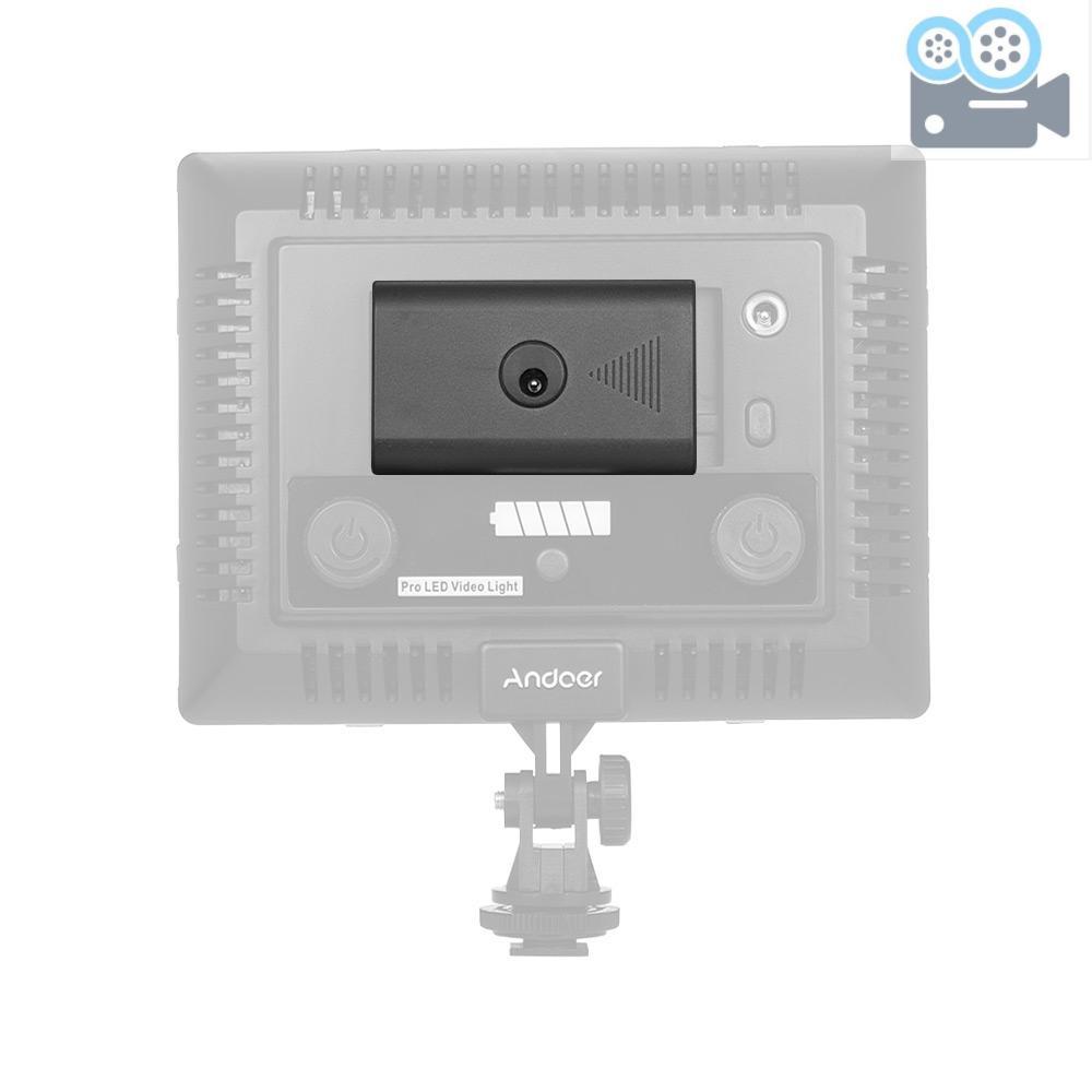 Andoer Bộ Chuyển Đổi Nguồn Pin Dc 8v 3a Cho Đèn Video Neewer Cn-160 Cn-126 Andoer W160 W228