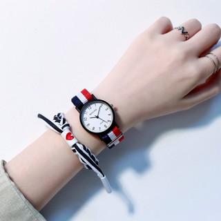 Đồng hồ nữ thời trang Mstianq MS06 dây dù cực bền, mặt số tuyệt đẹp, trẻ trung, cá tính