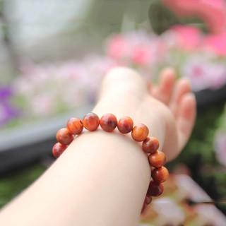 Vòng tay nữ gỗ Huyết Long thấu quang 8ly thơm nức (BH652-8) thumbnail