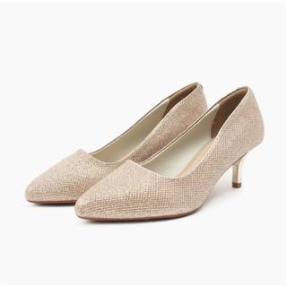 Aliza - Giày công sở da nhũ 5cm 92048N thumbnail