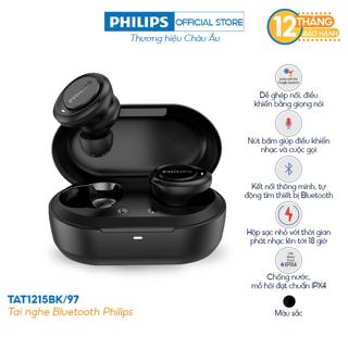 Tai nghe Bluetooth Philips TAT1215BK/97 - Màu đen