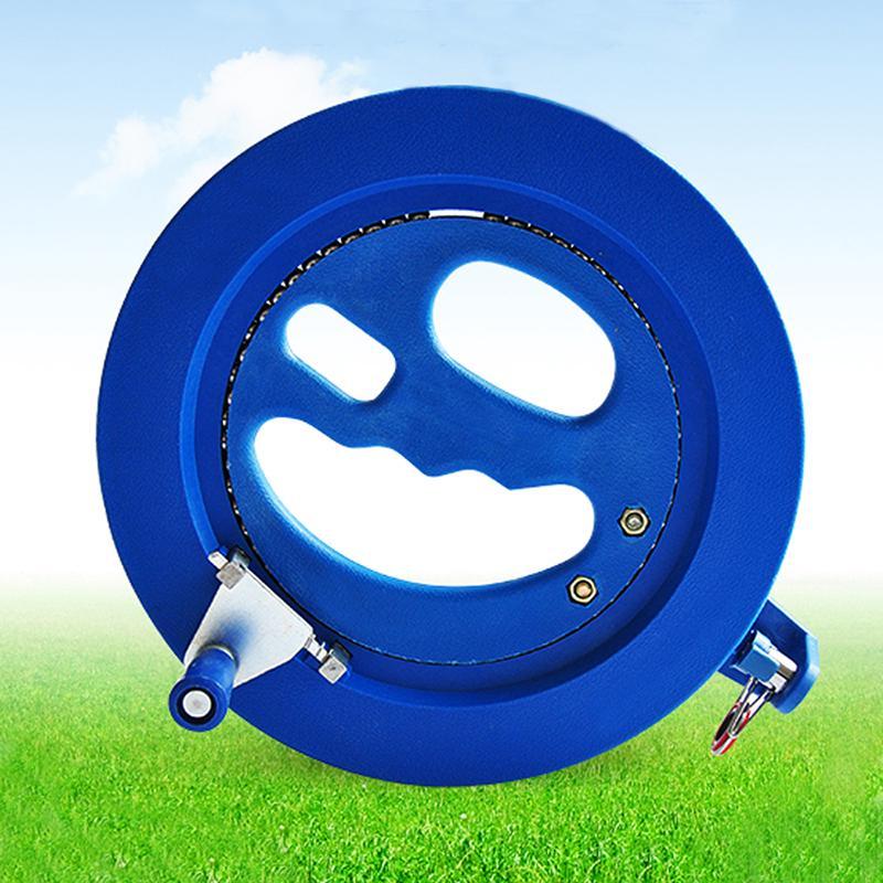 Hot~ Kids Outdoor Grip Wheel Kite Reel Handle with 100CM Flying String Line Tool