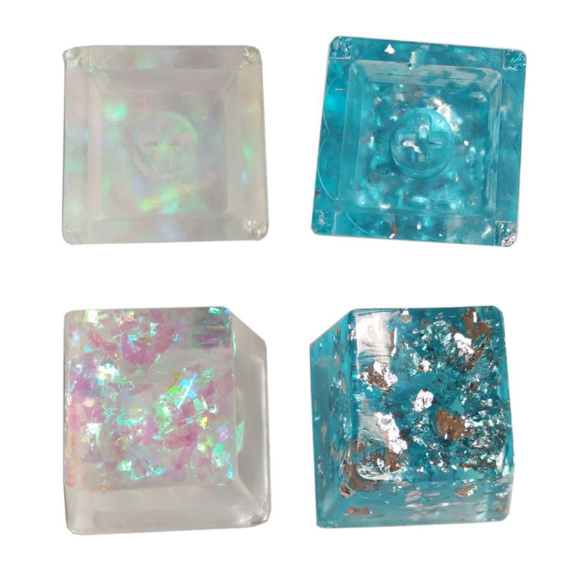 BTSG* Handmade Customized OEM R4 Profile Resin Keycap Keyboard RGB Translucent Keycap