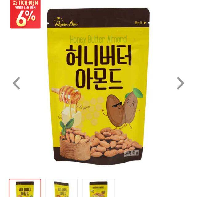 Hạnh nhân mật ong Hàn Quốc 100g