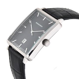 Đồng hồ Nam chính hãng Hàn Quốc Romanson DL5163NMWBK, máy Thụy Sĩ, miễn phí thay pin - Galle Watch