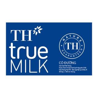 Sữa tươi tiệt trùng Có Đường 180ml