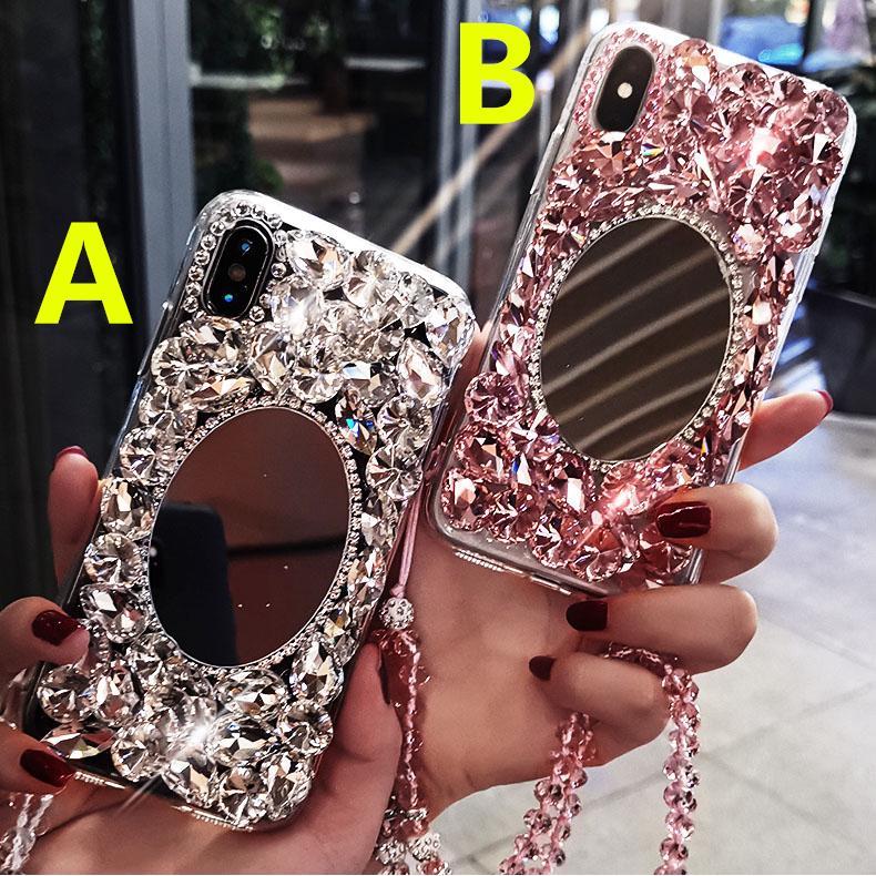 Flashing Crystal phone case VIVO Y91 Y95 Y71 Y81 V9 Y51 Y69 Y53 Y55