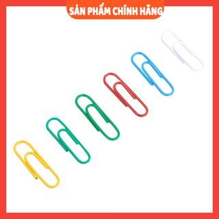 [miễn phí ship] Ghim vòng màu 3 DELI, 29mm, - 100 cái hộp, 2 hộp E0024 thumbnail