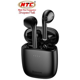 Tai nghe không dây True Wireless Baseus W04 Encok Earphones (TWS, Earbuds Mini, New Model 2020) - Hãng phân phối