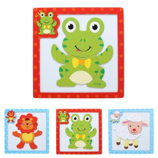 Kongming Lo, 6pcs Colorful Kong Ming Luban Lo Kids Adult Wooden Puzzle Brain Tease Toy