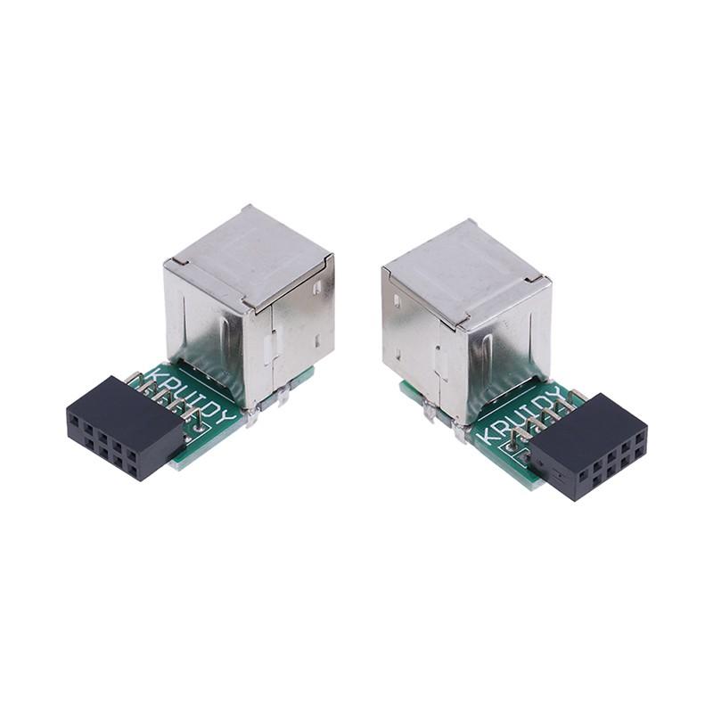 Đầu chuyển đổi bo mạch chủ 9pin sang 2 cổng usb 2.0 pcb chuyên dụng