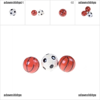[adawnshbhyu]1:6/1:12 Dollhouse Miniature Sports Balls Soccer Football and Baske
