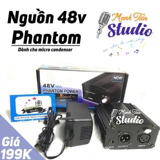 [HÀNG CHUẨN] Nguồn PhanTom Power 48V DÙNG CHO MICRO