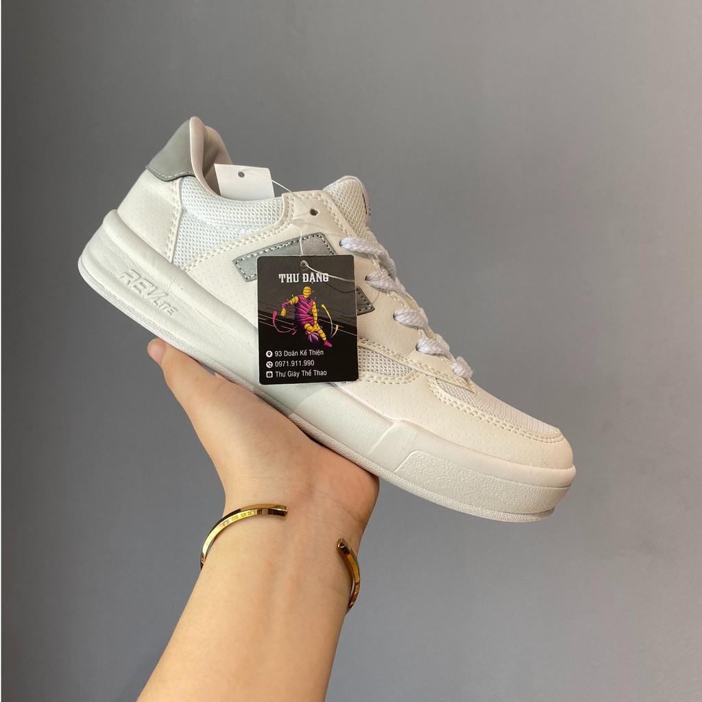 Giày thể thao sneaker nb chữ xám phản quang