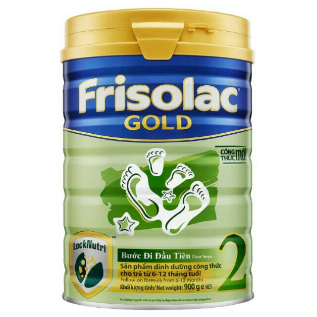 Sữa bột Frisolac Gold 2 900g. Date 2020