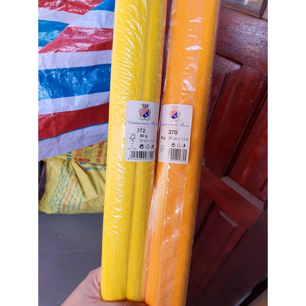 GIẤY NHÚN Ý 90gr - cuộn 50cm x 1.5m