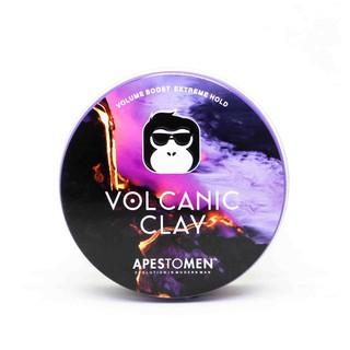 Wax Tóc Nam - APESTOMEN VOLCANIC CLAY-  sắp vuốt tóc chính hãng Tặng 1 Lượt
