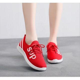 Freeshipto_50k Giày nữ vải thể thao SUP chạy bộ, thời trang khỏe khắn, năng động, cá tính SUPF1